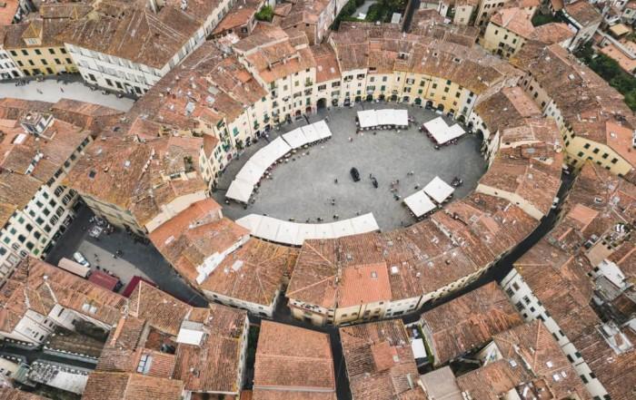 #autenticoitaliano, #hiddenspots, #Lucca, #ellipticalsquare